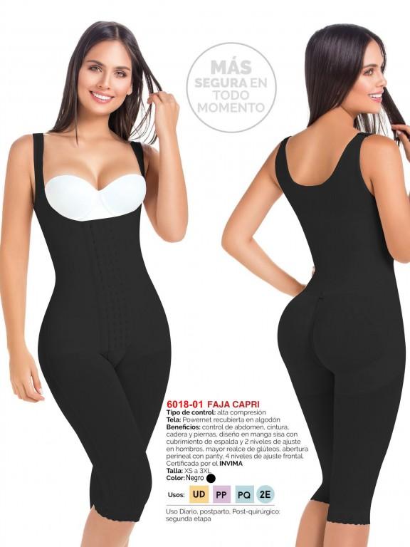 Faja Capri - Ref. 110 -6018 -01 Negro