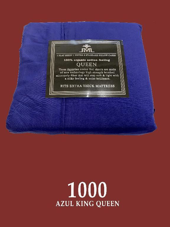 Sabana Q Azul - Ref. 272 -1001-5 Q Azul