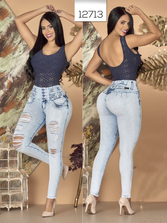 Colombian Butt lifting Jean - Ref. 123 -12713TW