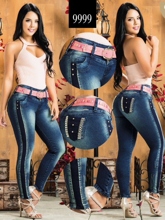Colombian Butt lifting Jean - Ref. 232 -9999-AZ Plus Size