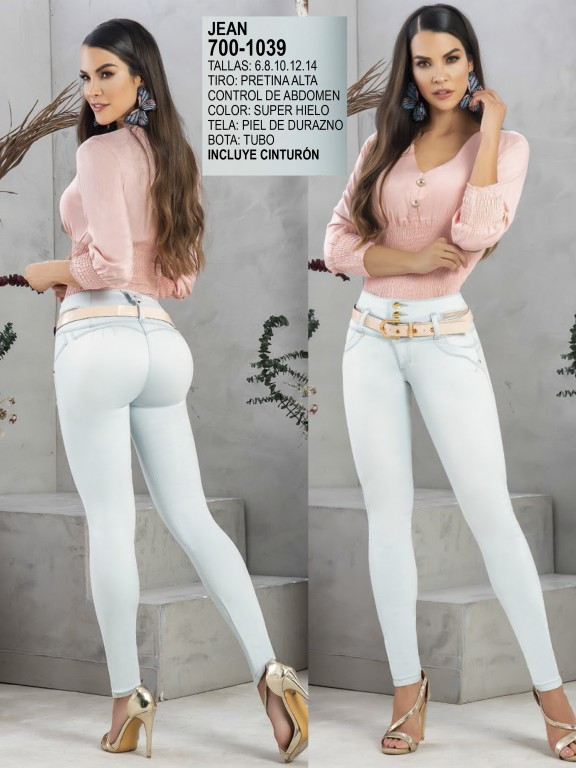Jeans Levantacola Colombiano - Ref. 287 -1039