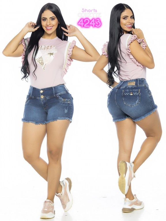 Colombian Butt Lifting Short - Ref. 119 -4243-CK