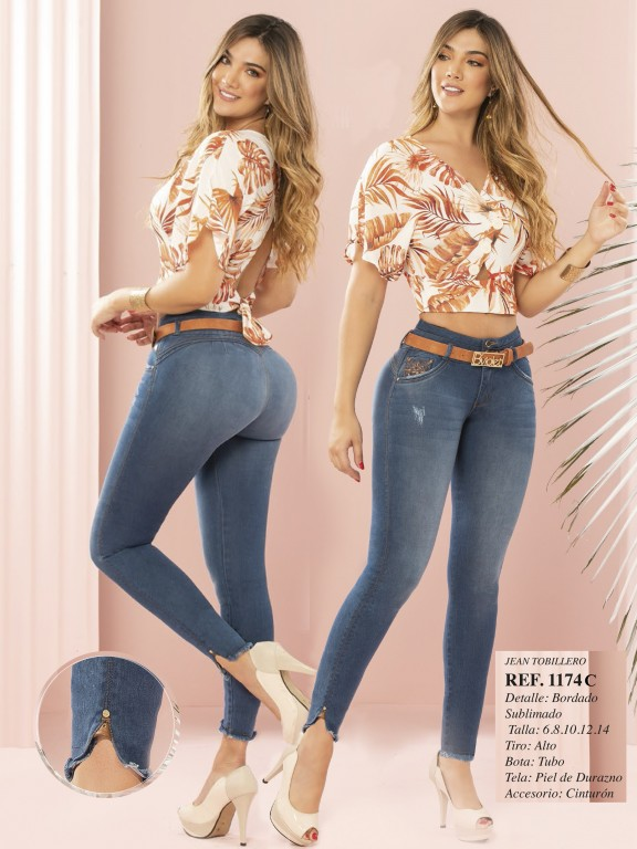 Colombian Butt lifting Jean - Ref. 280 -1174 CLARO