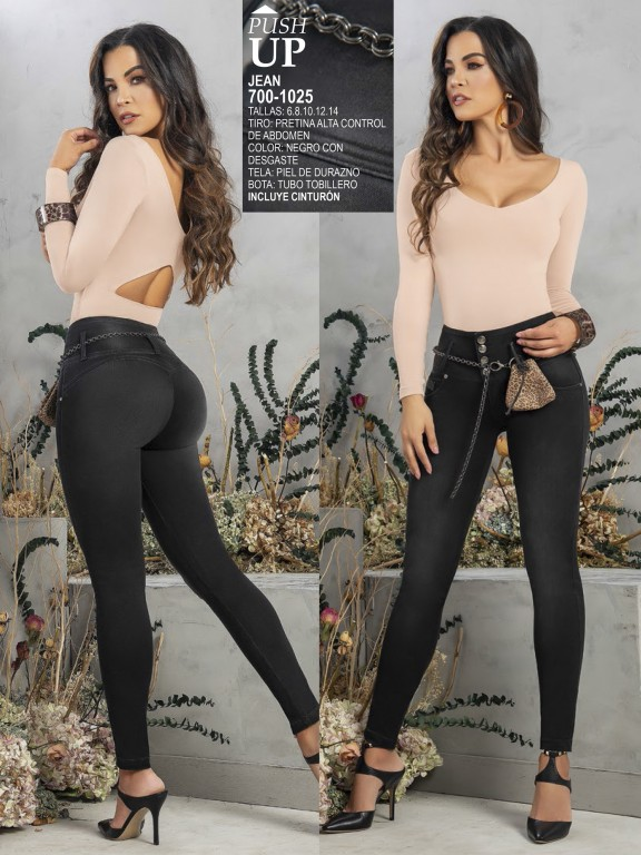 Colombian Butt lifting Jean - Ref. 287 -1025