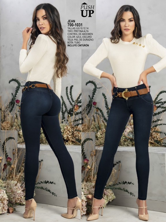 Colombian Butt lifting Jean - Ref. 287 -1031
