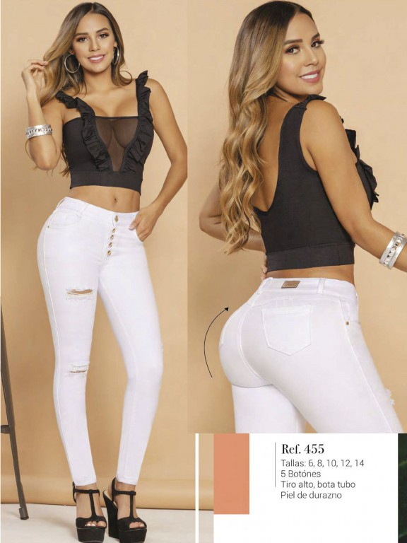 Colombian Butt lifting Jean - Ref. 119 -455