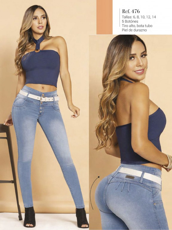 Colombian Butt lifting Jean - Ref. 119 -476