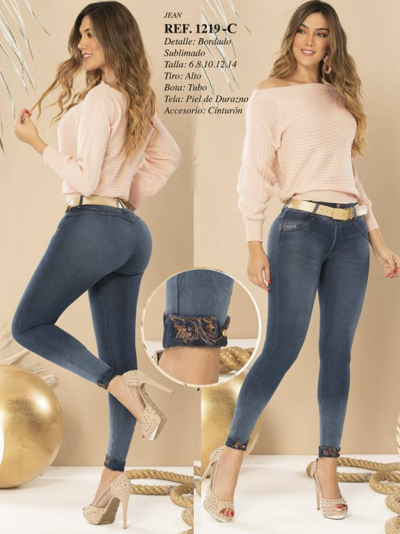 Colombian Butt lifting Jean - Ref. 280 -1219 CLARO