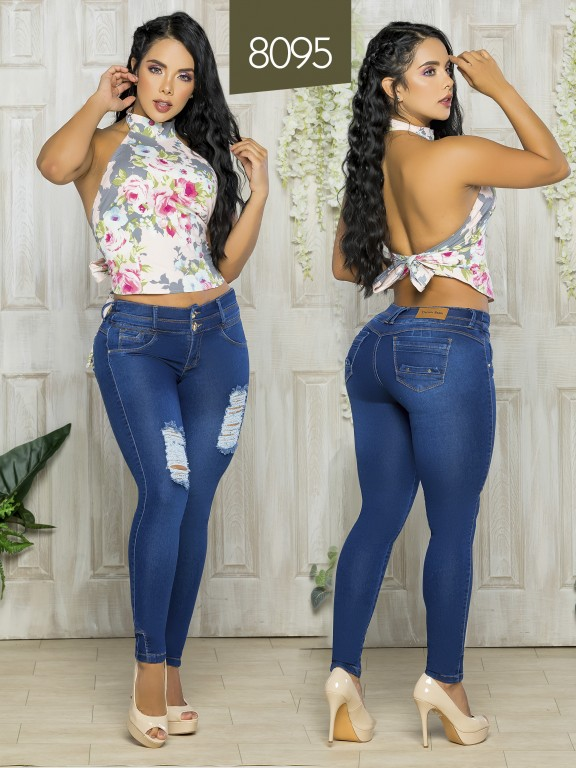 Colombian Butt lifting Jean - Ref. 119 -8095