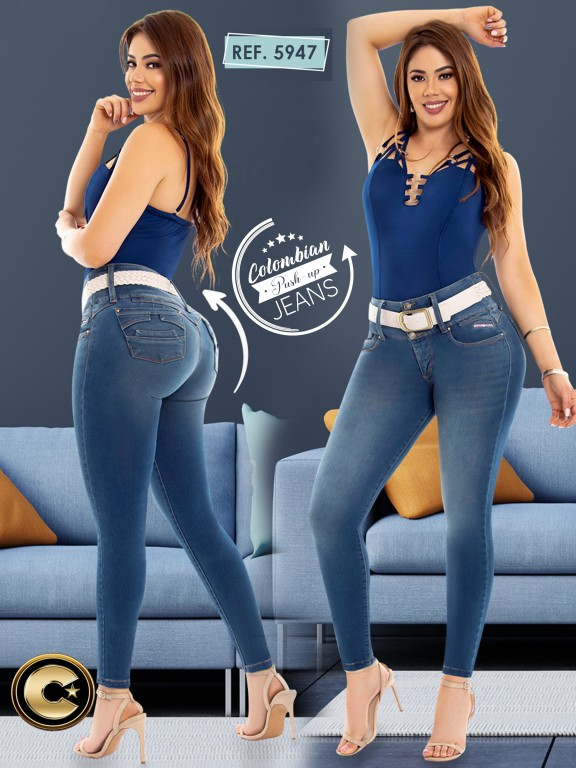 Colombian Butt lifting Jean - Ref. 283 -5947