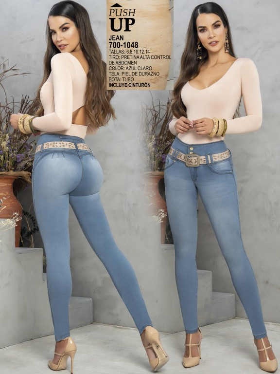 Colombian Butt lifting Jean - Ref. 287 -1048