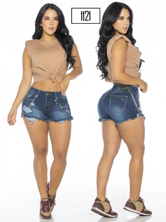 Colombian Butt Lifting Shorts - Ref. 119 -1121A