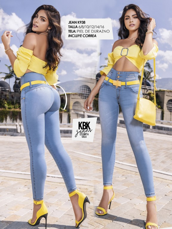 Colombian Butt lifting Jean - Ref. 119 -938K