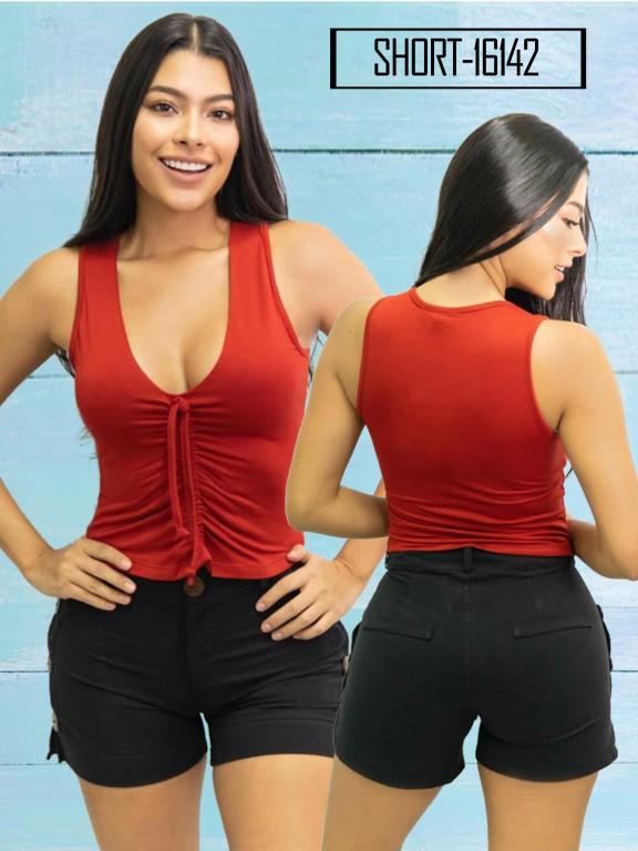 Short Colombiano  - Ref. 112 -16142 Negro