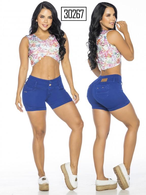 Colombian Butt Lifter Short - Ref. 119 -30267TE