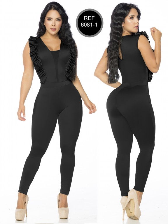 Colombian Romper by Thaxx - Ref. 119 -6081-1 NEGRO