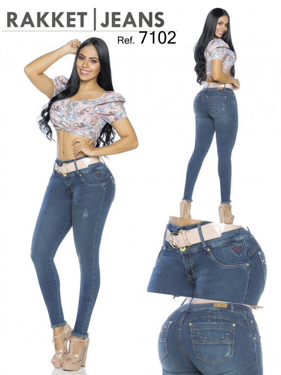 Colombian Butt lifting Jean - Ref. 261 -7102-R