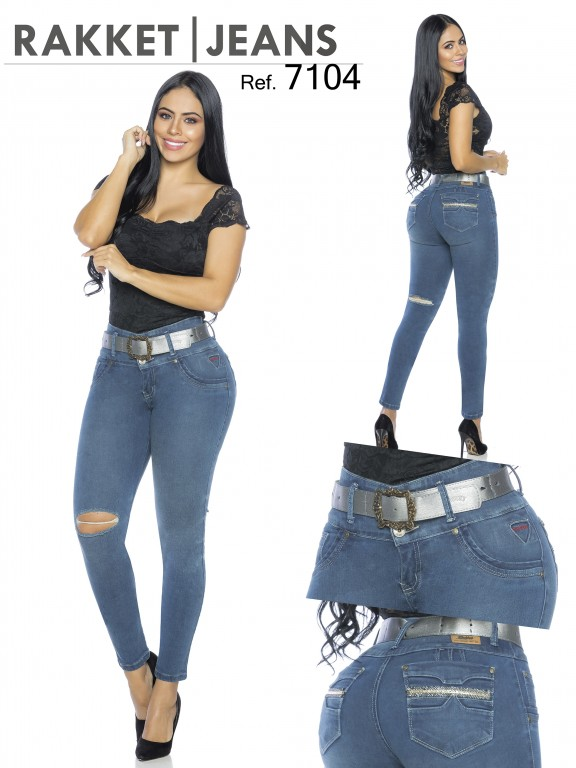 Colombian Butt lifting Jean - Ref. 261 -7104-R