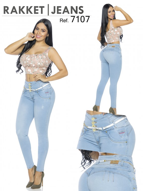 Colombian Butt lifting Jeans - Ref. 261 -7107-R