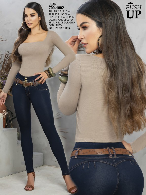 Colombian Butt lifting Jean - Ref. 287 -1002