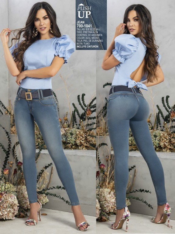 Colombian Butt lifting Jean - Ref. 287 -1041