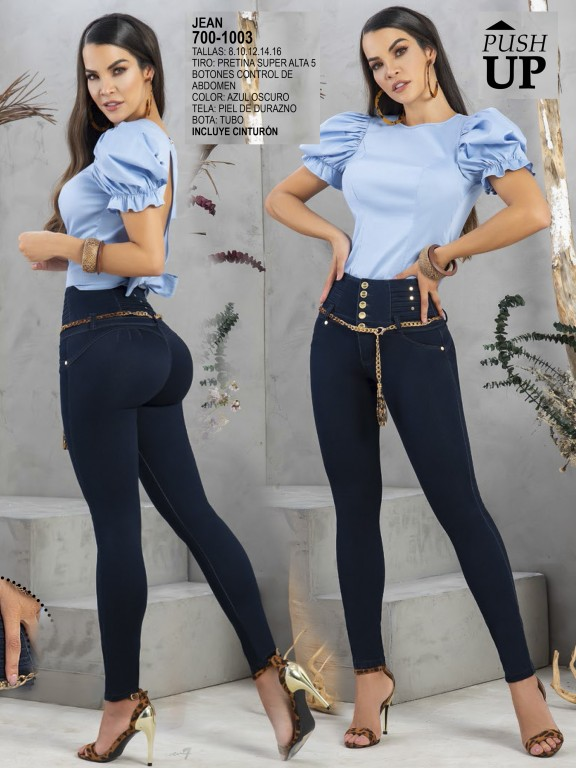 Colombian Butt lifting Jean - Ref. 287 -1003