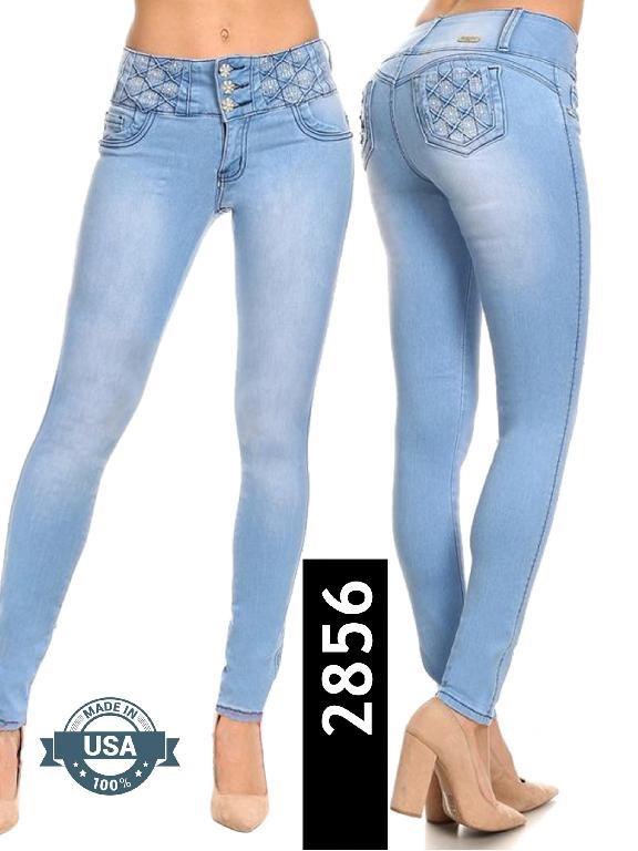 Jeans Levantacola Silver Diva - Ref. 108 -2856