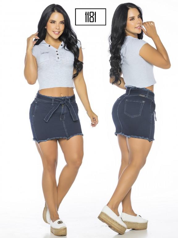 Colombian Butt Lifting Skirt - Ref. 119 -1181-A