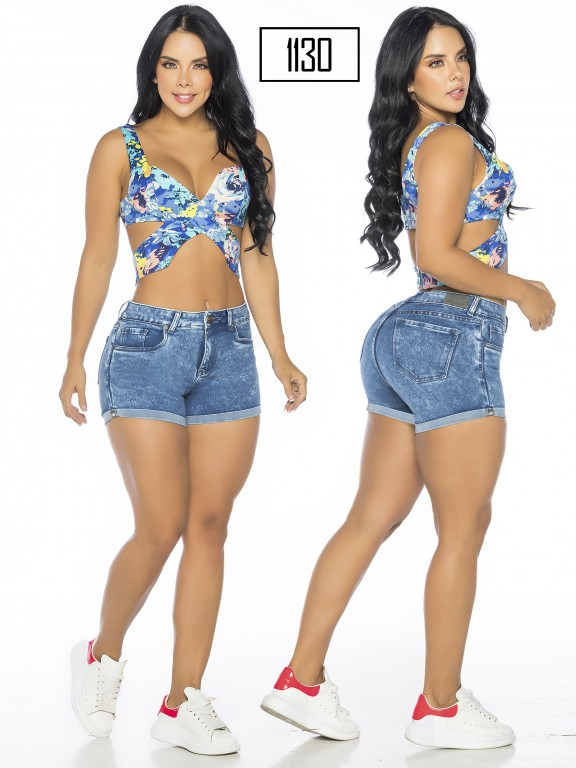 Colombian Butt Lifting Shorts - Ref. 119 -1130-A