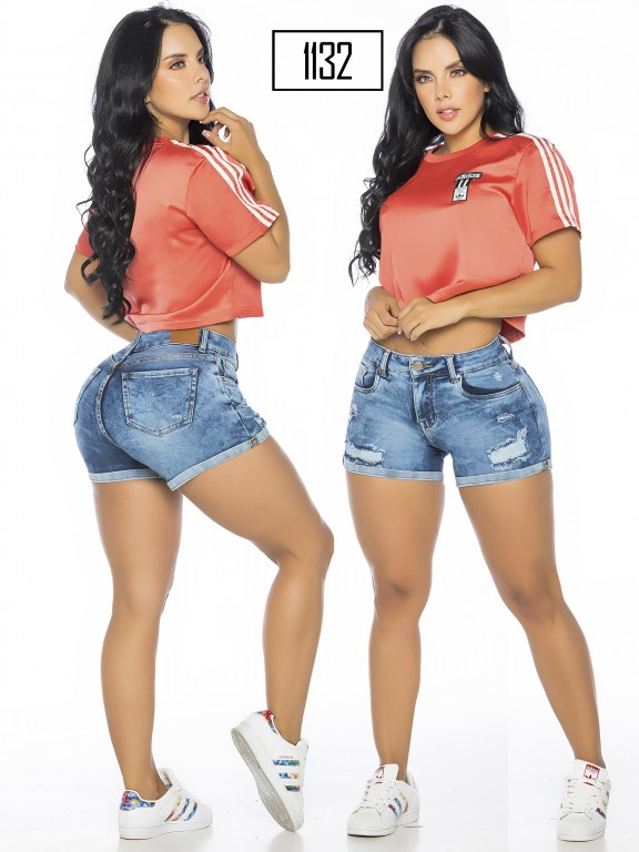 Colombian Butt Lifting Shorts - Ref. 119 -1132-A