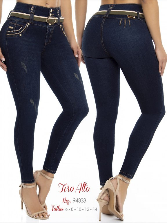 Colombian Butt lifting Jean - Ref. 248 -94333 D