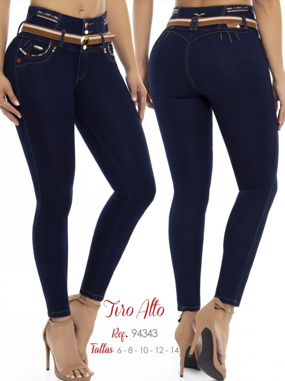 Colombian Butt lifting Jean - Ref. 248 -94343 D