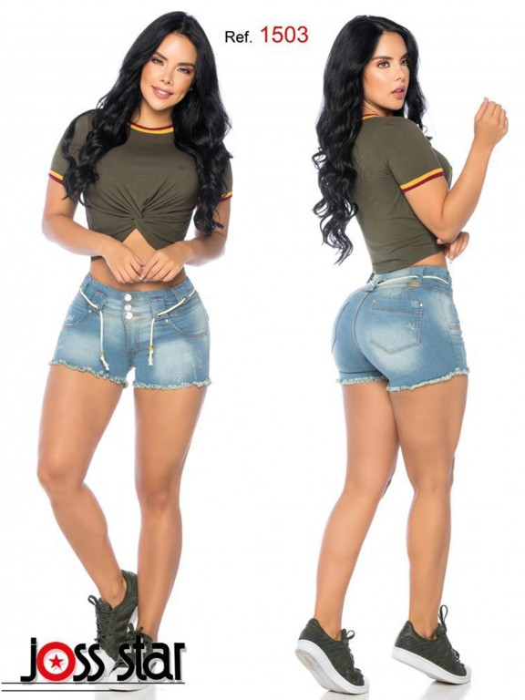 Colombian Butt Lifting Shorts - Ref. 109 -1503