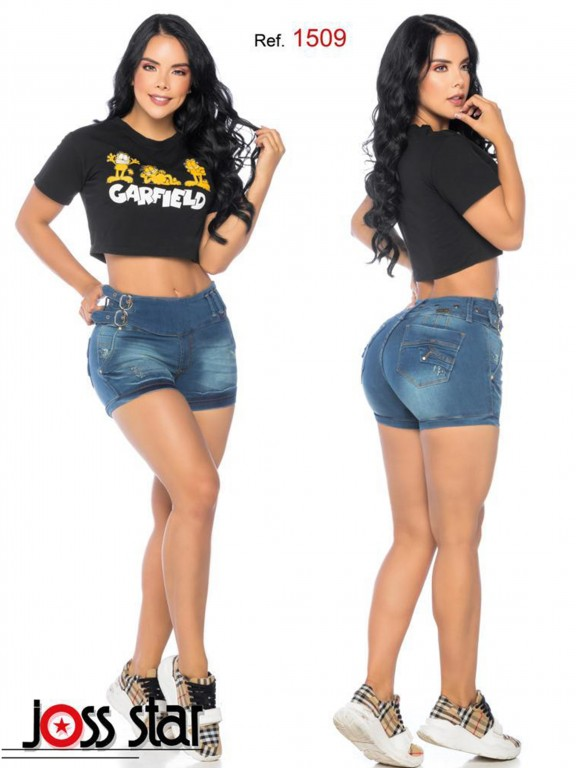 Colombian Butt Lifting Shorts - Ref. 109 -1509
