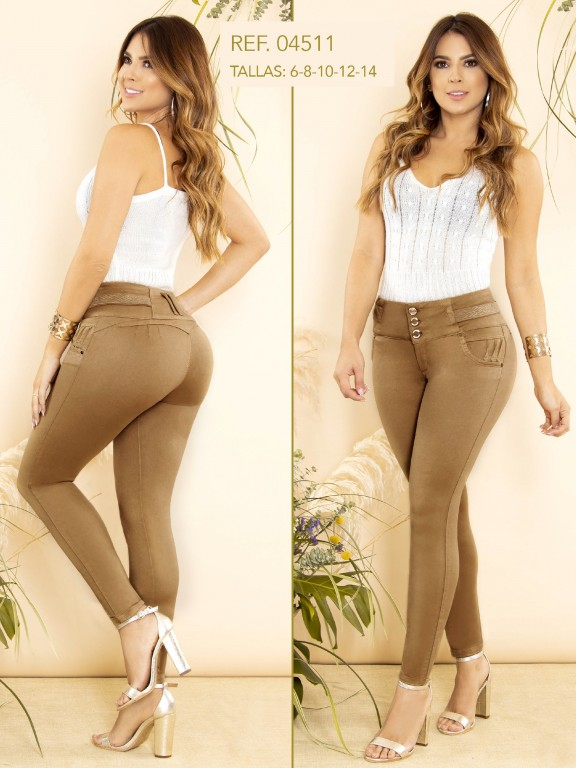 Colombian Butt lifting Jean - Ref. 270 -4511