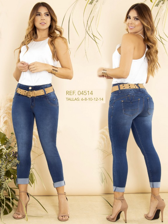 Colombian Butt lifting Jean - Ref. 270 -4514