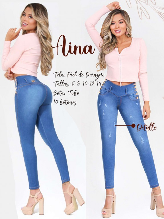 Colombian Butt lifting Jean - Ref. 300 -Aina