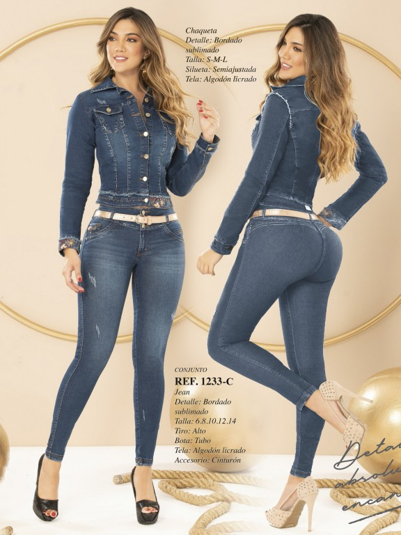 Colombian Butt lifting Jean - Ref. 280 -1233 CLARO