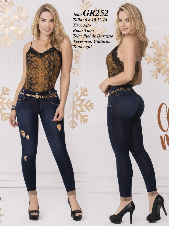 Colombian Butt lifting Jean - Ref. 306 -252