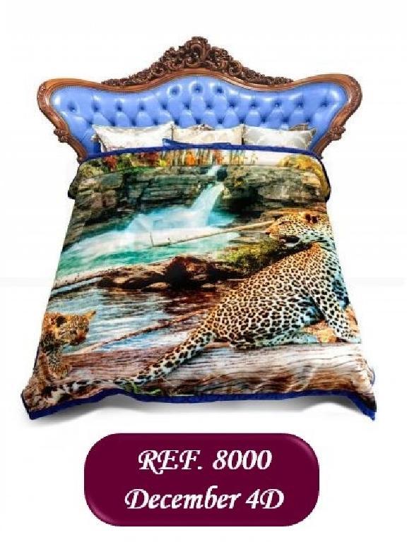 Cobija K Leopardo - Ref. 272 -8000 K Leopardo