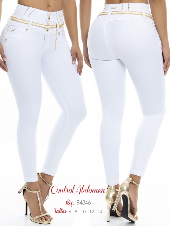 Colombian Butt lifting Jean - Ref. 248 -94346 D