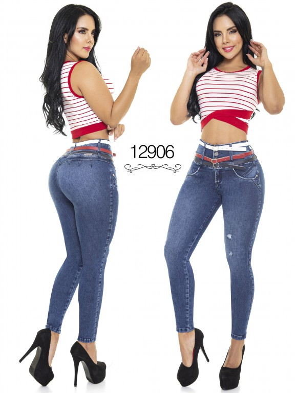 Colombian Butt lifting Jean - Ref. 101 -12906