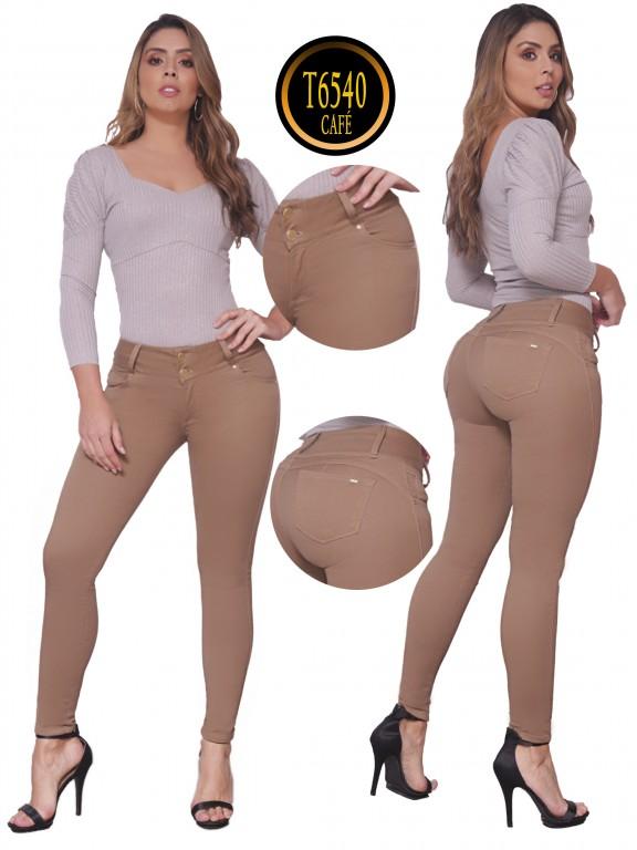 Jeans Levantacola  - Ref. 278 -6540 Café