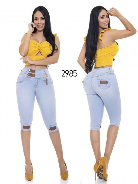 Colombian Butt lifting Capri - Ref. 101 -12985