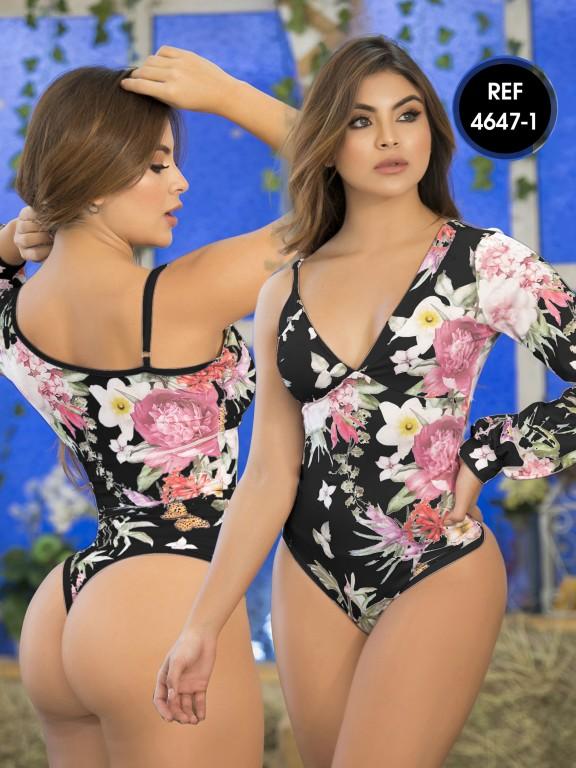 Colombian Bodysuit Shaper - Ref. 114 -4647-1 Negro