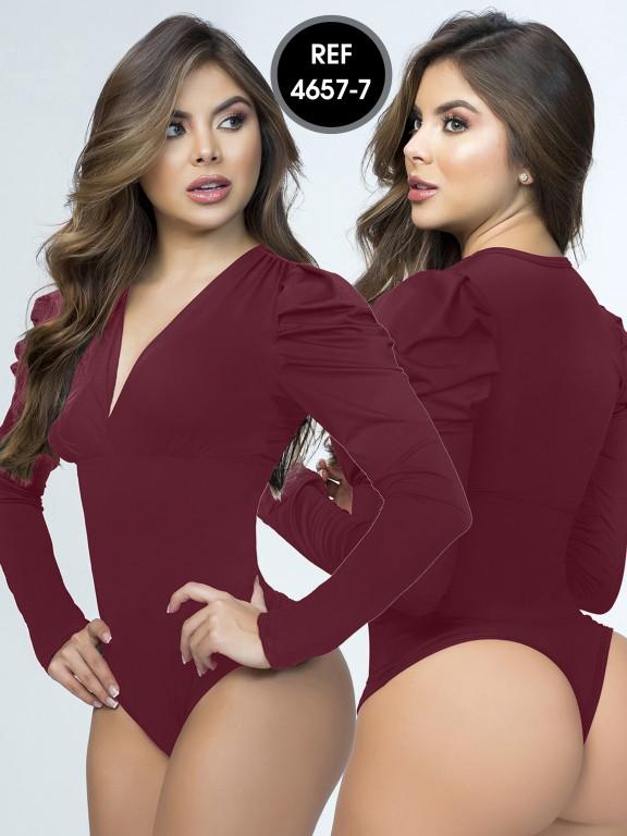 Colombian Bodysuit Shaper - Ref. 114 -4657-7 Vinotinto
