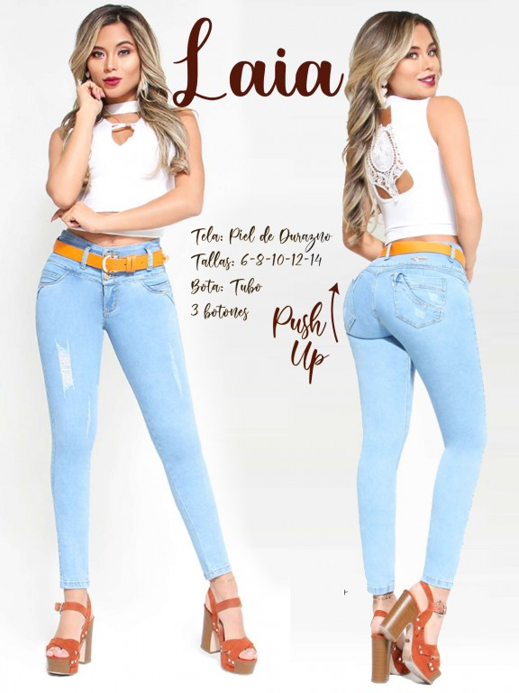 Colombian Butt lifting Jean - Ref. 300 -Laia