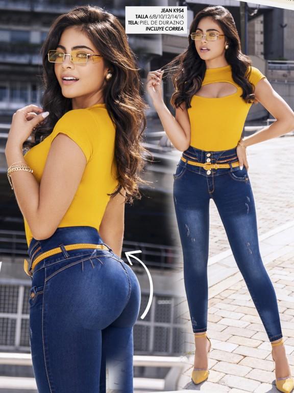 Colombian Butt lifting Jean - Ref. 119 -954K