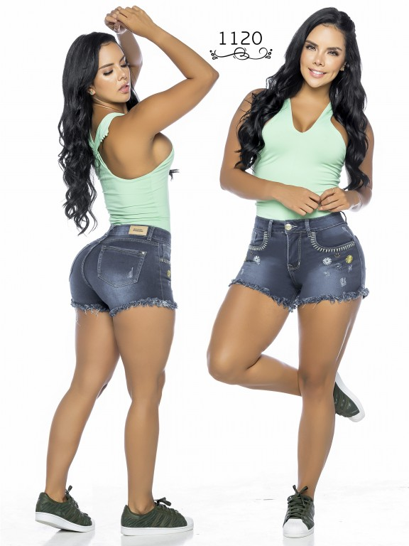 Colombian Butt Lifting Shorts - Ref. 119 -1120A