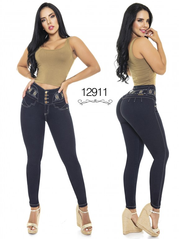 Colombian Butt lifting Jean - Ref. 101 -12911